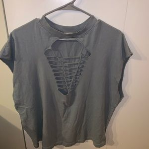 Urban Outfitters Ripped Tshirt